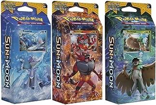 Pokemon All 3 Sun & Moon English Theme Decks: Rowlet, Litten, & Popplio! Toy