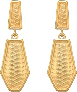 Clip Double Drop Earrings