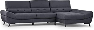 Amazon.com: Pillow Back Water Repellent Upholstery Sectional ...