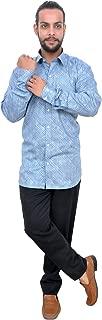 The Mods Men's Casual Light Blue Color Shirt