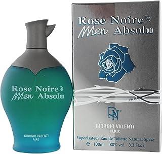 Rose Noire Absolue by Giorgio Valenti Eau De Toilette Spray for Men, 3.3 Ounce