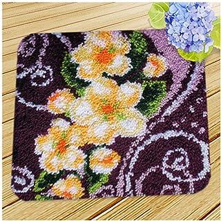 Kits de crochet de verrouillage for adultes débutants bricolage Loquet Crochet Kit Tapis Faire de l'artisanat for les enfa...