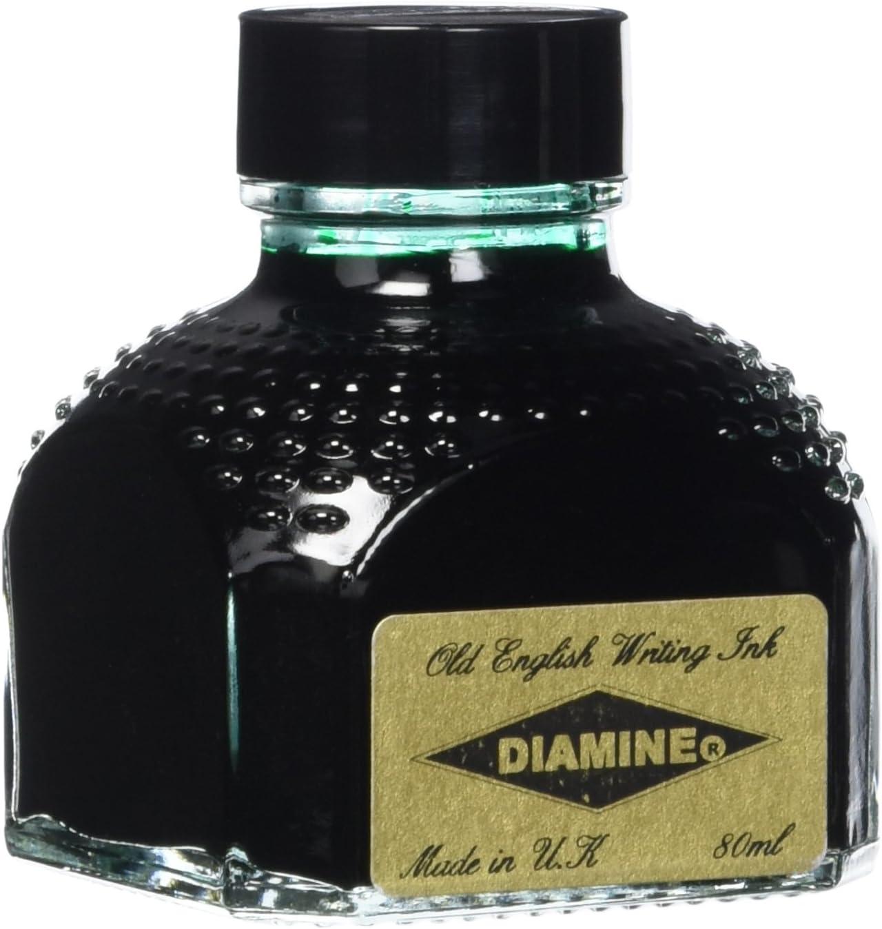 Diamine Fountain Inexpensive Pen Ink 80 Genuine Autumn ml Bottle Oak