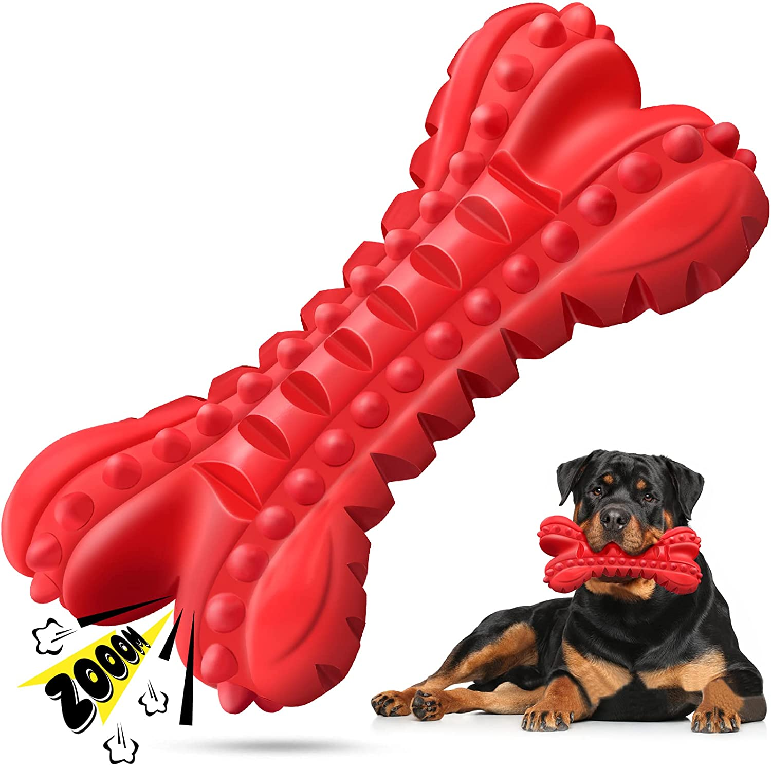 Dog Toys for Aggressive Chewers S List price Large Durable Bones Breed Free Shipping New