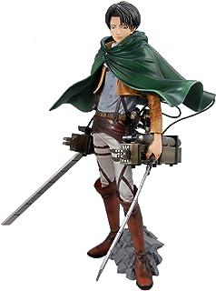 Banpresto Ataque a los titanes / Attack on Titan Figure - Master Stars Piece Shingeki no Kyojin Levi (25cm) (Ver. MSP) + 3D Maneuver Gear