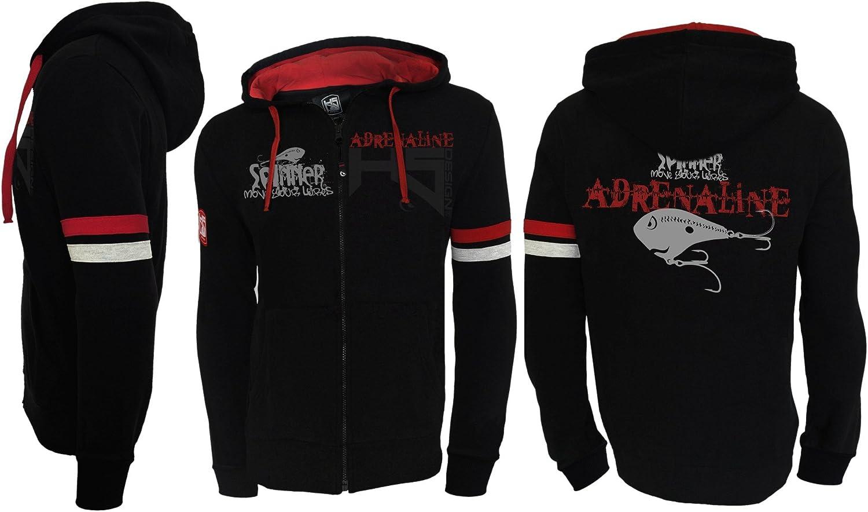 HOTSPOT DESIGNZipper Hoodie Sweatshirt Adrenaline Gr. XXL