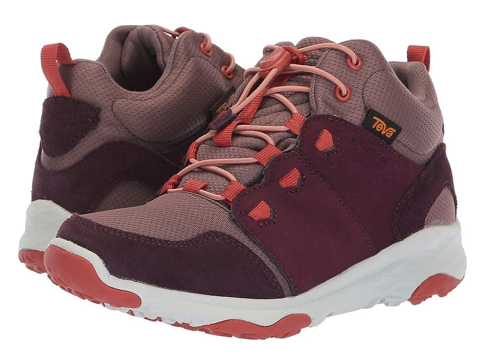 Teva Kids Arrowood 2 Mid WP (Little Kid) (Plum) Girls Shoes