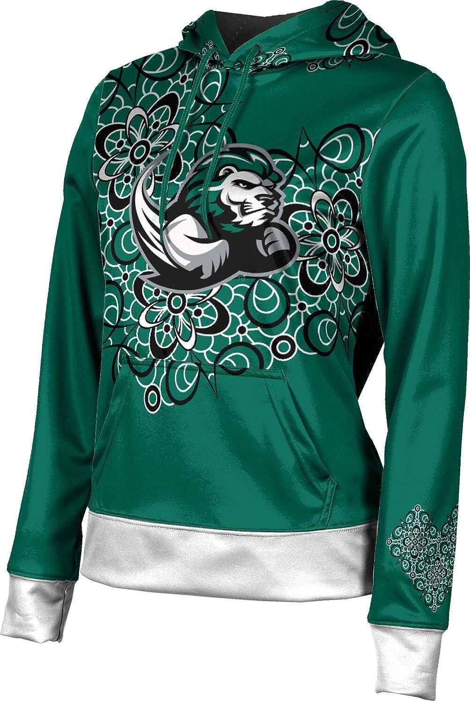Slippery Rock University Girls' Pullover Hoodie, School Spirit Sweatshirt (Foxy) F9B82