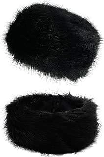 Winter Women Faux Fur Russian Cossack Style Hat Winter Wrap Hat