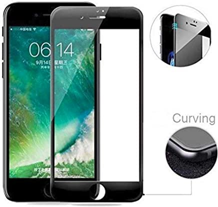 Superdealsfortheinfinityâ® 6D Edge to Edge Full Tempered Glass Screenguard for iPhone 6S/6 - Black (Pack of 1)