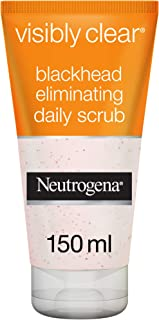 Neutrogena Face Scrub, Visibly Clear, Blackhead Eliminating, 150ml
