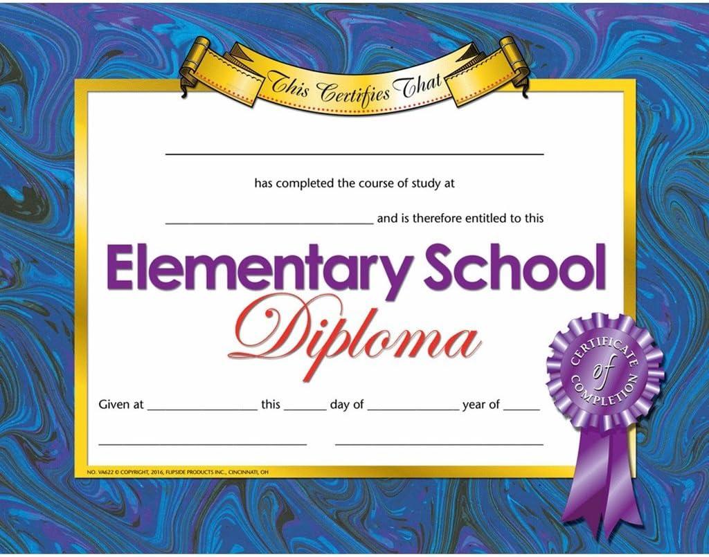 Elementary School Diploma - Quantity Paper 5% OFF Over item handling Matte 150