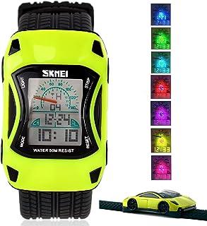 Kid Watch LED Sport 50M Waterproof Multi Function Digital...