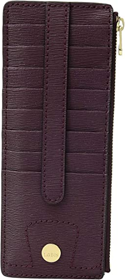 Belair Credit Card Case with Zipper Pocket