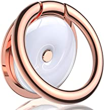 VICSEED Phone Ring Holder Gorgeous Porcelain Zinc Ring Kickstand Phone Finger Ring Grip Cell Phone Ring Holder Gift 360° Rotation Fit with iPhone 11 Pro Max Samsung Galaxy Note10 All Phones-Rose Gold