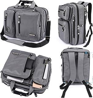 7544878e07bc FreeBiz 18 Inches Laptop Briefcase Backpack Messenger Bag Shoulder Bag  Laptop Case Handbag Business Bag Fits
