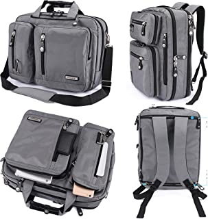 Men Canvas Backpack Rucksack Laptop Shoulder Outdoor Duffle Bag ED