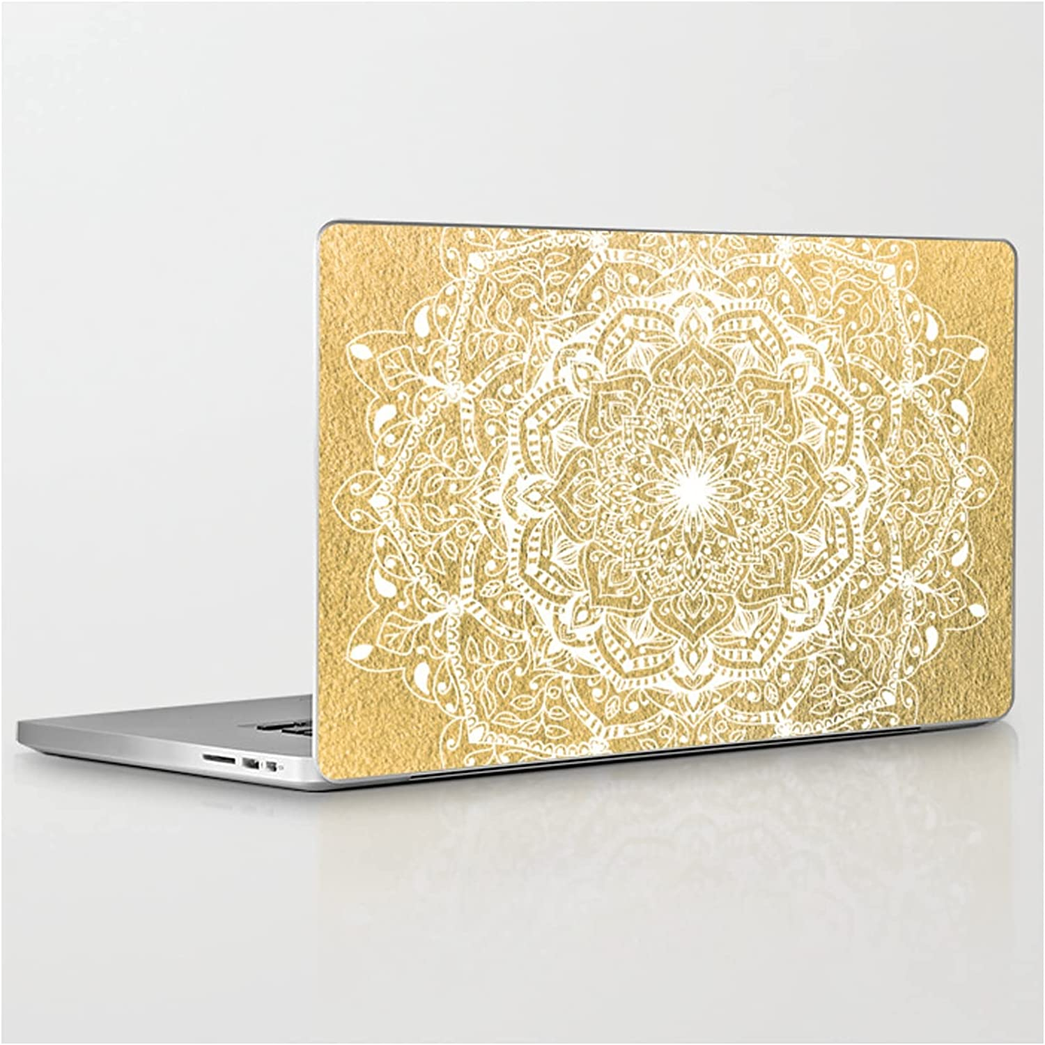 Nature Details Mandala in Gold by on Skin Compatible Las Vegas Mall Nika Laptop Limited time cheap sale