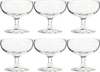 東洋佐々木ガラス アイスクリームグラス 180ml ラーラ 日本製 食洗機対応 32831HS  6個セット