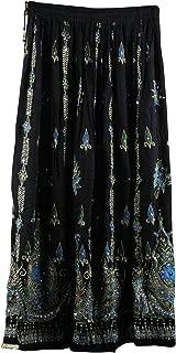 Belly Dance Skirt,Indian Long Partywear Skirt wd Sequin