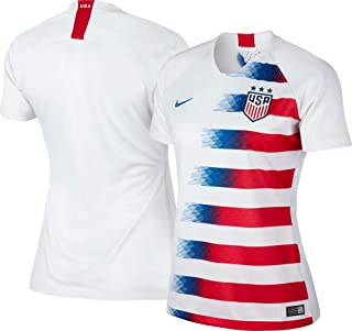 2018/19 Womens USA Stadium Home Jersey White/Red/Blue