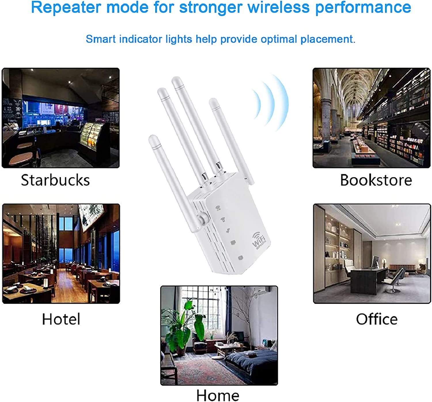 Computers & Accessories Networking Products WiFi Range Extender ...