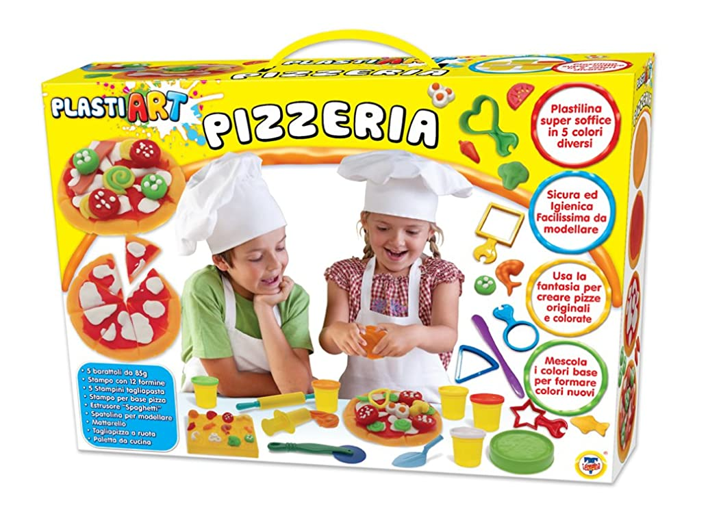 TEOREMA Theorem 63921?–?plastiart The Pizzeria with 5?Jars of plasticine