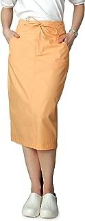 Adar Universal Mid-Calf Length Drawstring Scrub Skirt