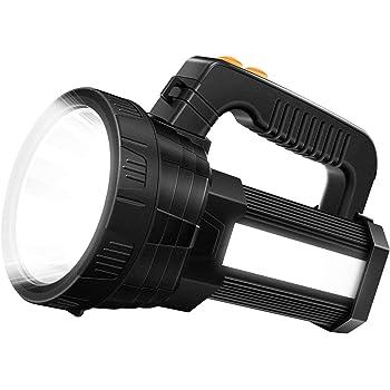 LED Linterna con 350 L/úmenes Luz Verde Zoomable Coyote Hog Predator Varmint Luz de Caza Linterna T/áctica a Prueba de Agua con Interruptor de Presi/ón Bater/ía y Cargador