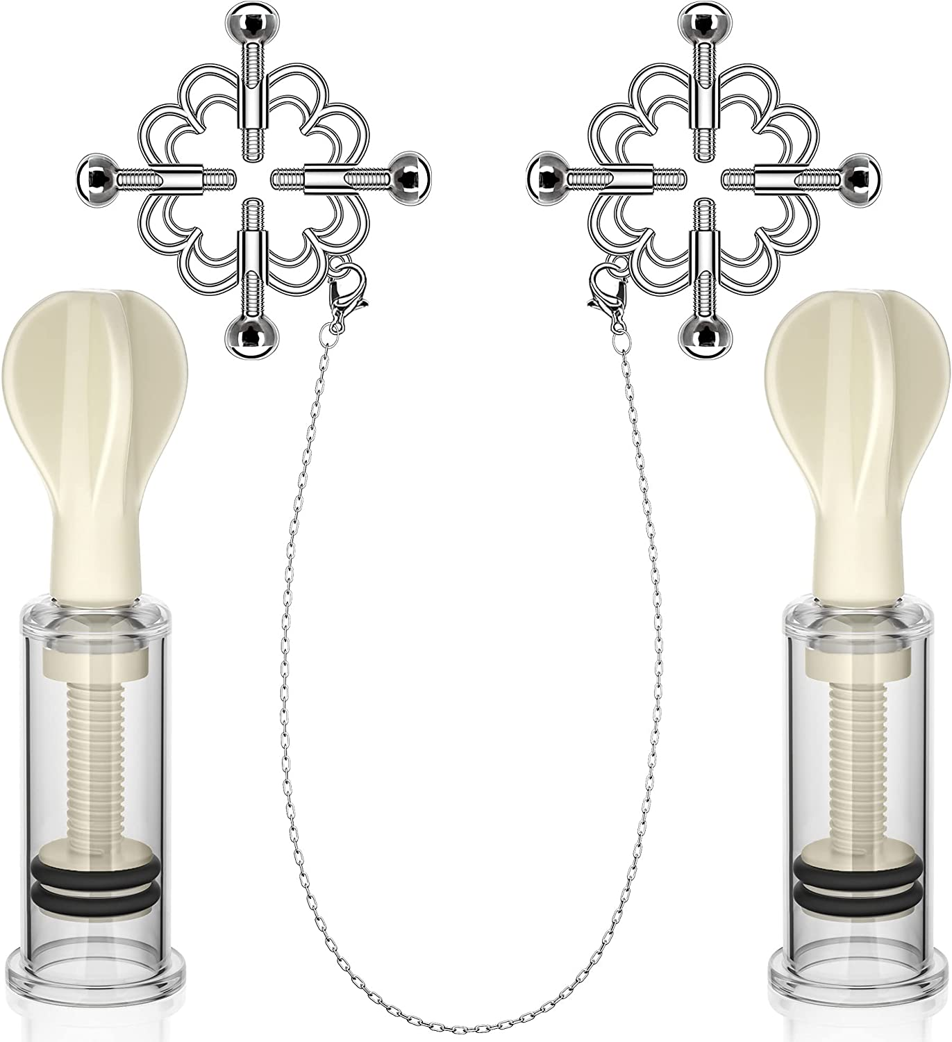 Nipple Clamps Selling Indianapolis Mall rankings with Enlargement Sucker Adjustable