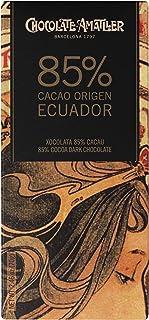 Chocolate Amatller Chocolate 85% Ecuador - 90 Unidades
