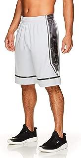 AND1 Men's Basketball Gym & Running Shorts w/Elastic Waistband & Pockets