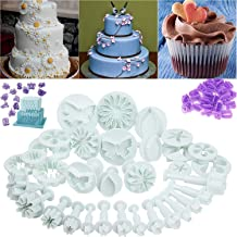ELINKA New 73Pcs Set Fondant Cake Cutters Decorating Tools Plunger Candy Sugarcraft Flower Modelling Cutters Bakeware Tools