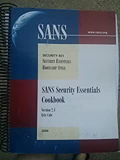 SANS Security Essentials Cookbook (Version 2.2)