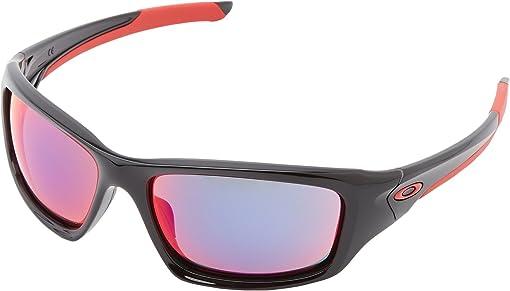 오클리 선글라스 Oakley Valve,Polished Black w/ Red Iridium