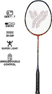 DYNWAVE Badminton Racket//Racquet and Shuttlecock Keychain Keyring Pendant