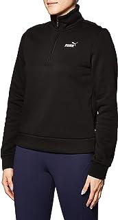 PUMA Women's ESS+ Half-Zip Crew Fleece