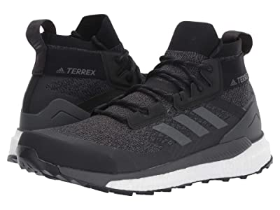 adidas Outdoor Terrex Free Hiker (Black/Grey Six/Active Orange) Men