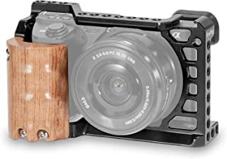 SMALLRIG a6500 Cage with Wooden Grip for Sony a6500 - 2097