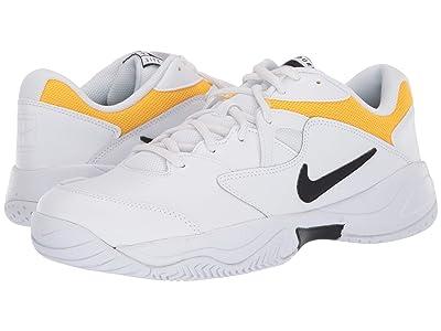 Nike Court Lite 2 (White/Black/White/University Gold) Men