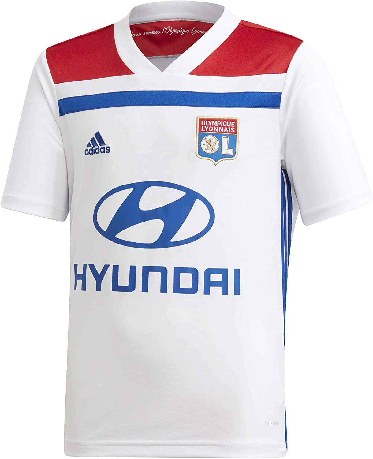 Adidas Olympique Lyon Home Football Soccer Trikot (Kids) T