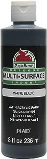 Apple Barrel Multi-Surface Paint in Assorted Colors (8 oz), 22474E Black