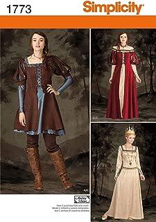 Best renaissance dress patterns simplicity Reviews