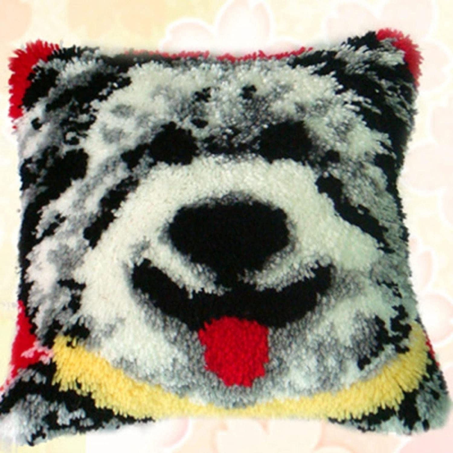 Latch Hook Kit Special price for a limited time Pillow San Diego Mall Cover Throw Rug Crochet Pi DIY