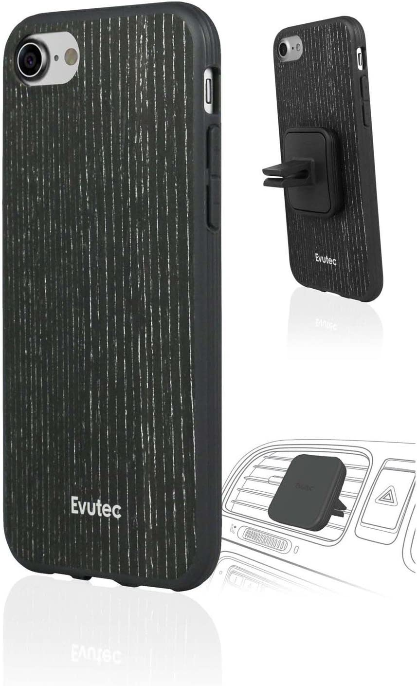 Evutec iPhone 7 It is very popular Plus AER San Jose Mall Wood Phone Case Includ Mount Vent Cell