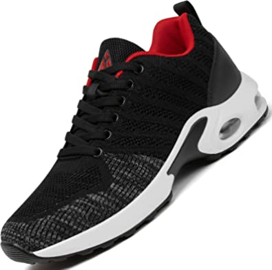 Aire Zapatillas de Running para Hombre Mujer Zapatos para Correr Gimnasio Deporte Sneakers,Gr.36-46 EU
