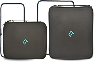 Qubix 2 Piece Premium Packing Cubes For Travel - Super Lite Travel Luggage Set Cube Organiser – (Black) Packing Cubes For ...