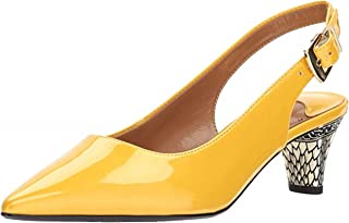 J. Renee Women's Mayetta (7, Lemmon) Lemon