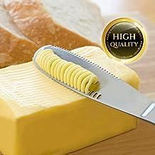 pastel y jam/ón Cortador de queso de acero inoxidable para servir mantequilla de queso dura y semirr/ígida con cables de repuesto para cortar queso mantequilla