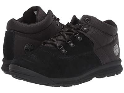 Timberland Kids GT Rally Mid (Big Kid) (Black Suede/Fabric) Kids Shoes